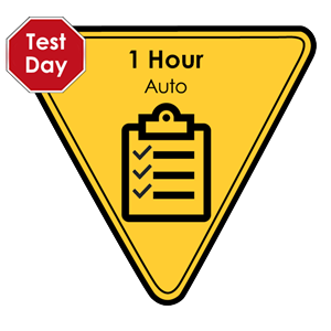 Auto - 1 Hour Test Pack