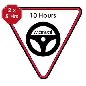 <p>A package of 10 x 1 hour lessons. 5 lessons initially when the Learner first starts to drive and then another group of 5 lessons prior to undertaking the Provisional Licence practical test.</p>